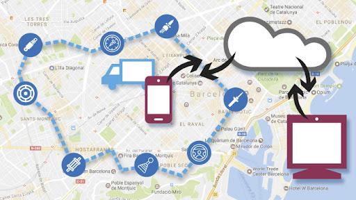 Gestión de rutas por GPS